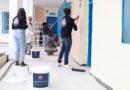 بدعم من شركة Boero Tunisie  نادي Retaract Club Tuins  يقوم بطلاء وتزويق مدرسة ابتدائية شاكر برواد